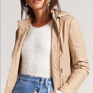 Forever 21 faux leather jacket NWT